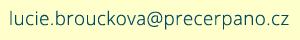 Emailová adresa na správce stránek